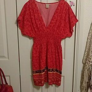 Boho, gypsy, style dress.
